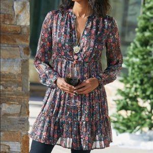 Soft Surroundings Castille Tunic/Dress NWOT